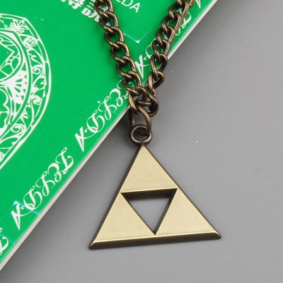 Colar Zelda Triforce
